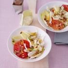 Grünkernsalat mit Fenchel und Berberitzen