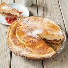 Käse-Rhabarber-Kuchen