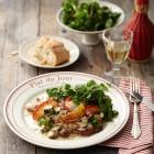 Kalbsschnitzel mit Calvados