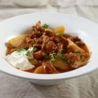 Kartoffel-Pfifferlings-Ragout