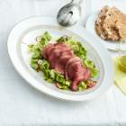 Kopfsalat mit Rinderfilet