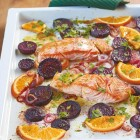 Lachs mit Roter Bete