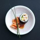 Maki mit Chili-Knoblauch-Garnele