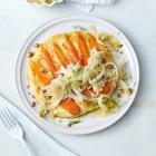 Möhren-Curry-Pfannkuchen