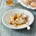 Ricotta mit Honig und Mandeln