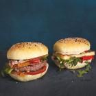 Rindfleisch-Aprikosen-Burger