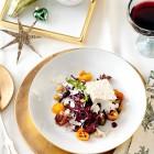 Rotkohlsalat mit Tofu und Frozen Yogurt