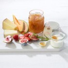 Salzzitronenmarmelade mit Rosmarin