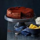 Schoko-Schock-Torte mit Ingwer-Äpfeln