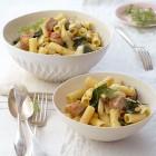 Tortiglioni mit Salsiccia und Mangold