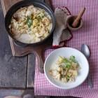 Wirsing-Eintopf aus dem Ofen