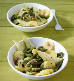 Birnen-Bohnen-Kartoffelsalat