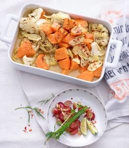 Blumenkohl-Curry-Auflauf