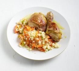 Ingwer-Curry-Hähnchen