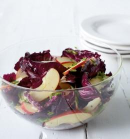 Radicchio-Apfel-Salat