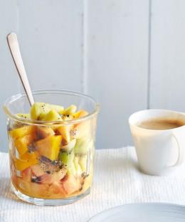 Südfruchtsalat mit Chia