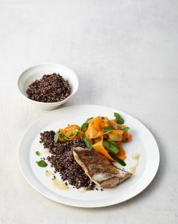 Zanderfilet mit Ingwer-Quinoa