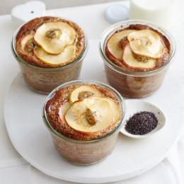 Backrezept der Woche: Apfel-Mohn-Schichtkuchen