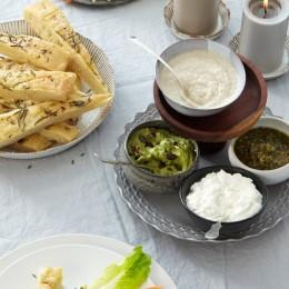 Avocadocreme mit Kürbiskernen
