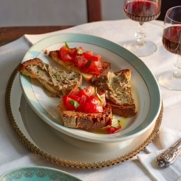 Crostini mit Leber-Paté (al fegato)