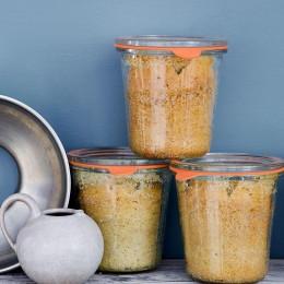 Backrezept der Woche:   Eierlikörkuchen im Glas