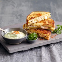 French Toast mit Avocado-Dip