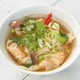 Rezept des Tages: Garnelen-Wan-Tan-Suppe