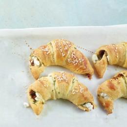 Gefüllte Croissants