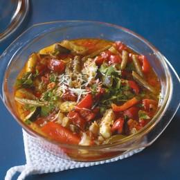 Rezept des Tages: Gemüseeintopf aus dem Ofen