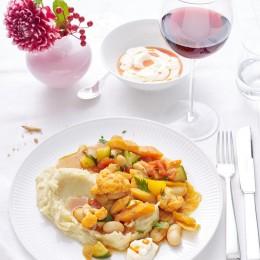 Kartoffel-Buchweizen-Polenta