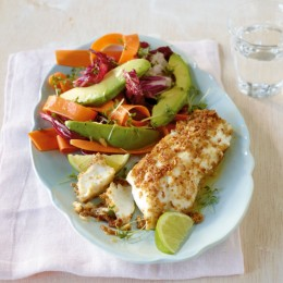 Radicchio-Avocado-Salat