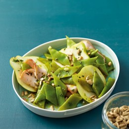 Schneidebohnensalat
