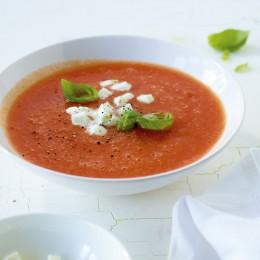 Tomatensuppe alla caprese