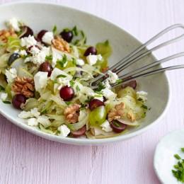 Trauben-Fenchelsalat