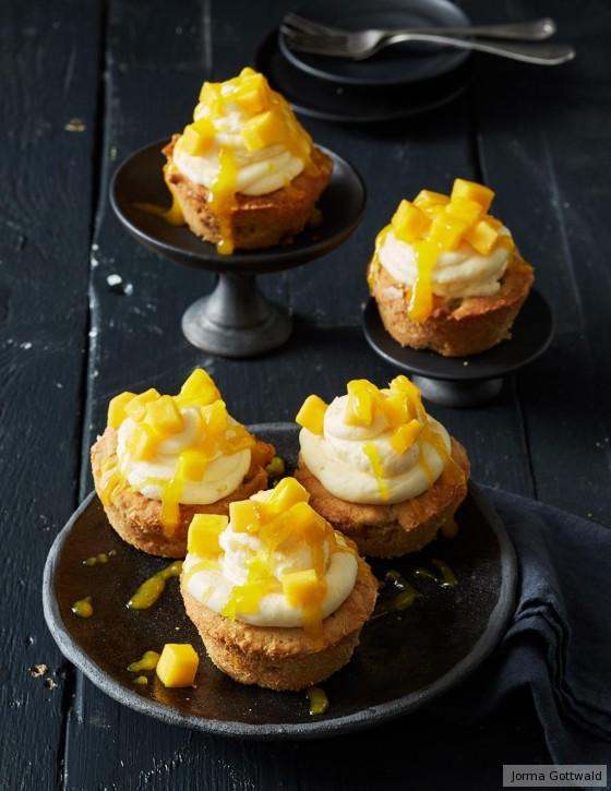 Ananas-Mango-Cupcakes