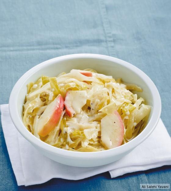 Apfel-Rahm-Weißkohl