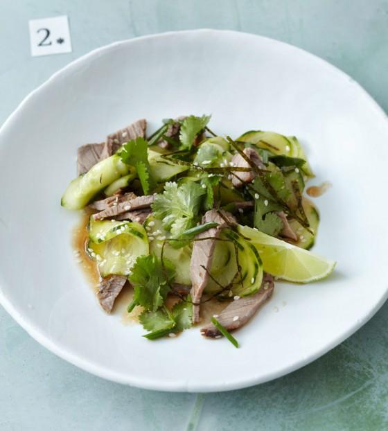 Asiatischer Tafelspitzsalat
