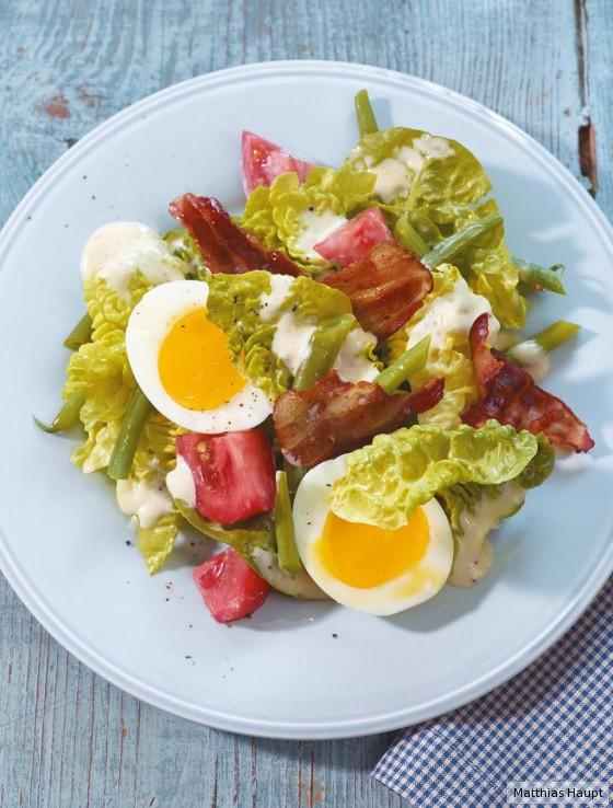 Caesar's Salad mit Bohnen