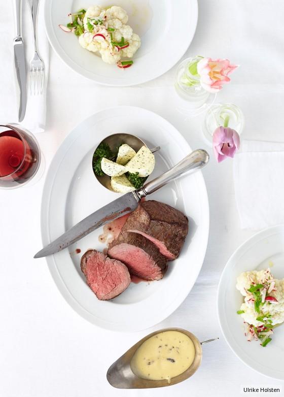 Chateaubriand mit Morchel-Hollandaise