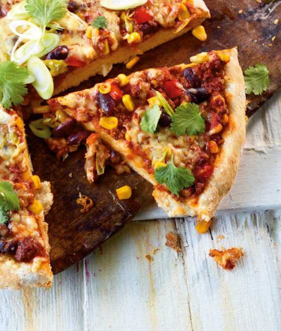 Chili-con-Carne-Pizza