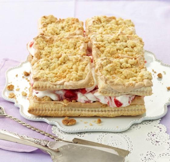 Erdbeer-Prasseltorte