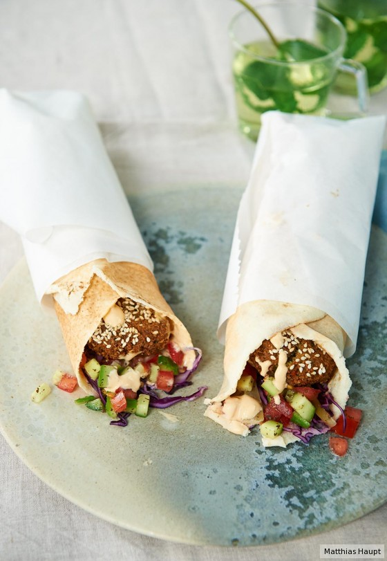 Falafel-Wrap