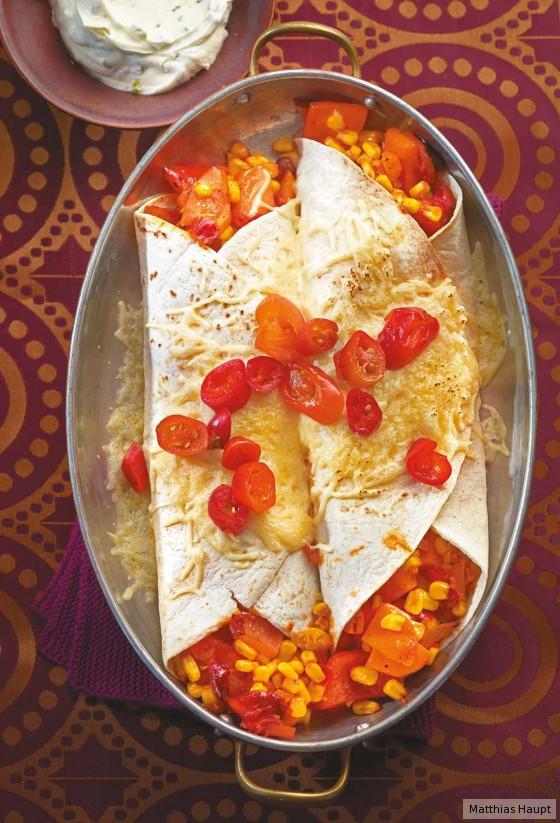 Gemüse-Burritos