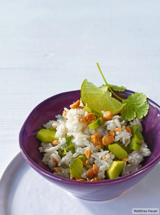 Gurken-Reis-Salat