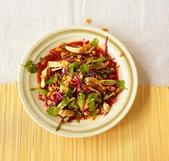 Hähnchen-Kraut-Salat