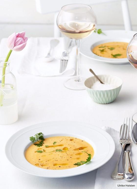 Kohlrabi-Paprika-Suppe