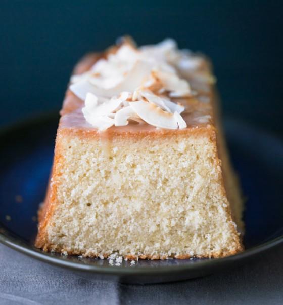 Kokos-Ingwer-Kuchen