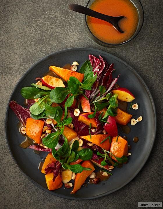 Kürbis-Apfel-Salat