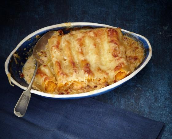 Kürbis-Cannelloni