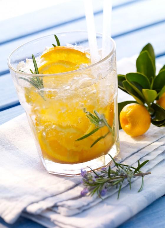 Mineralwasser-Cocktail: Geistesblitz